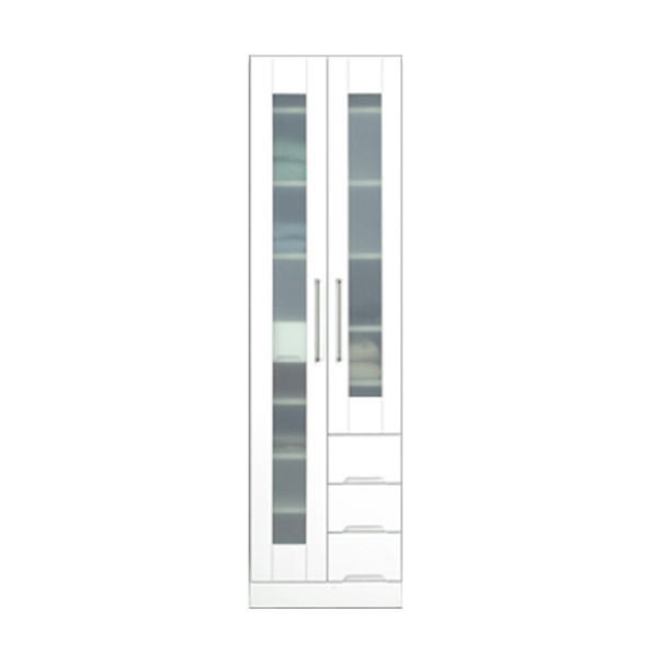 関家具 インテリア 収納 食器棚 50マルチボード クリスタルIII 121012 【代引き不可】【送料無料】