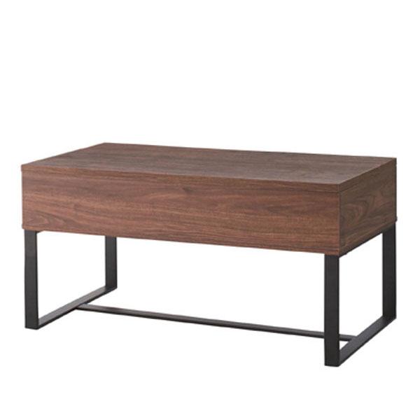 東谷 2WAY テーブル SO-851WAL 【代引き不可】