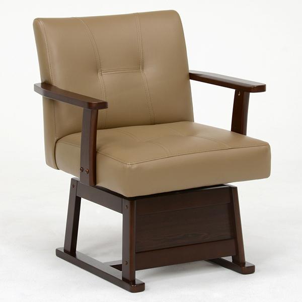 萩原 ハギハラ KC-7589DBR 回転チェア 椅子 4934257235228 ダークブラウン 代引き不可