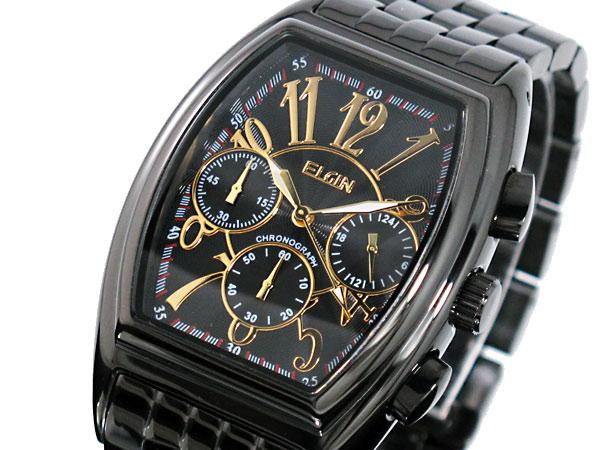 エルジン ELGIN 腕時計 クロノグラフ メンズ FK1215B-BH2【送料無料】