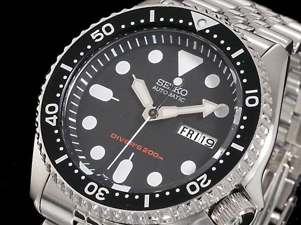 セイコー SEIKO ダイバー 腕時計 自動巻き ブラックボーイ SKX007K2H2【送料無料】