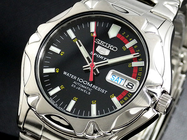 セイコー5 SEIKO ファイブ スポーツ 腕時計 日本製モデル SNZ449J1【ラッピング無料】【送料無料】