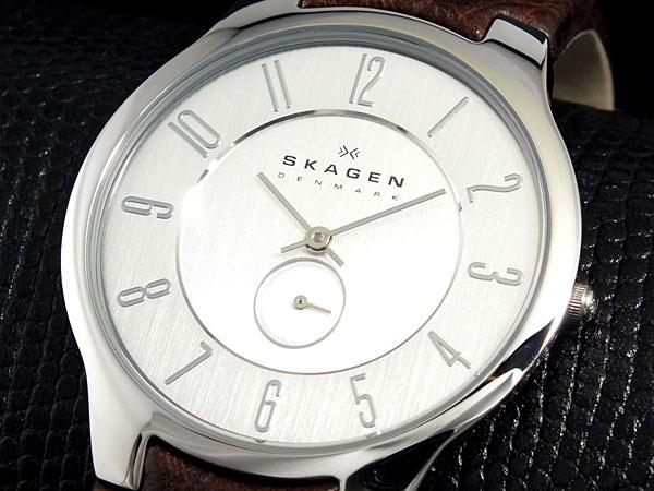 【驚きの価格が実現!】 スカーゲン SKAGEN OT433XLSL1【送料無料】 腕時計 レザー メンズ メンズ OT433XLSL1 腕時計【送料無料】, ブランハート:56e3d1f4 --- rishitms.com