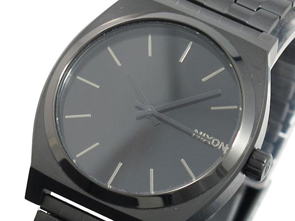 ニクソン NIXON 腕時計 TIME TELLER A045-001 ALL BLACK【ラッピング無料】