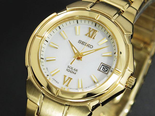 セイコー SEIKO ソーラー 腕時計 レディース SUT024P1H2
