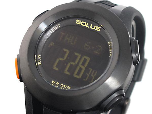SOLUS ソーラス 腕時計 時計 デジタル 心拍計測機能付き 01-101-001