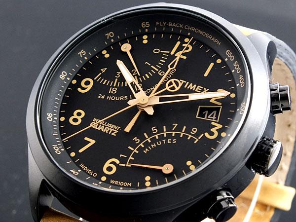 タイメックス TIMEX インテリジェントクオーツ クロノグラフ 腕時計 T2N700