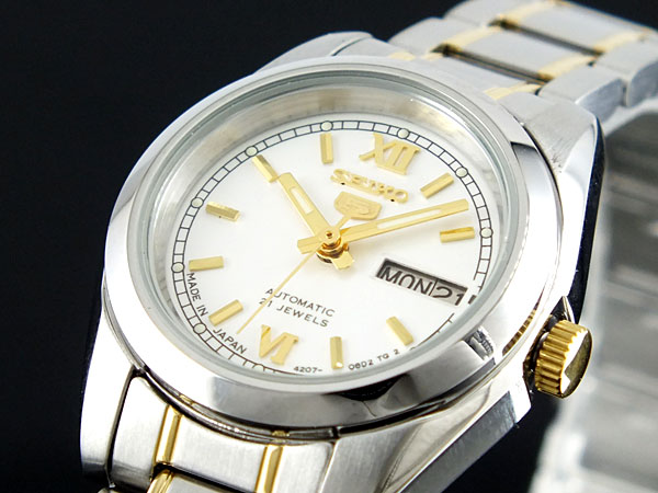 セイコー5 SEIKO ファイブ 腕時計 自動巻き レディース SYMK29J1H2【送料無料】