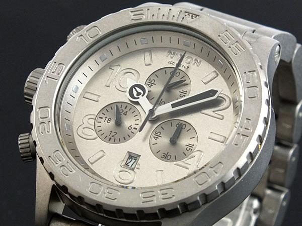 ニクソン NIXON 腕時計 42-20 CHRONO A037-1033H2【送料無料】