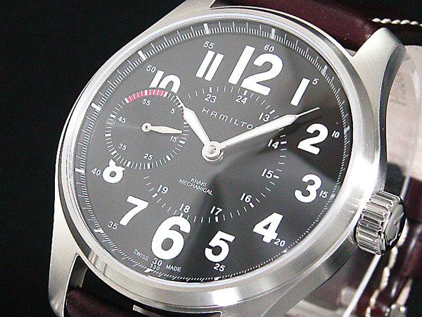 ハミルトン HAMILTON 腕時計 カーキ メカ オフィサー H69619533H2【送料無料】