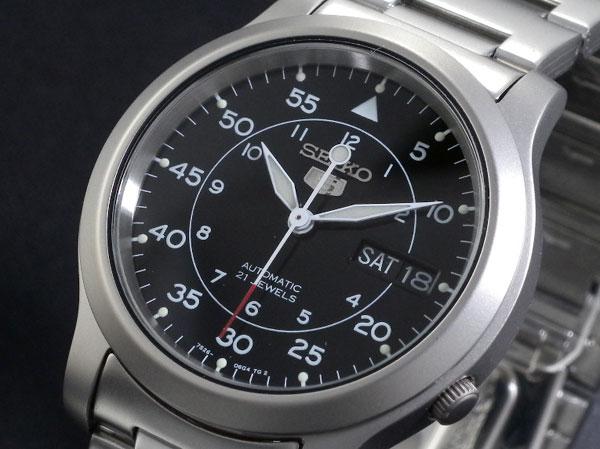 セイコー 5 SEIKO ファイブ 腕時計 時計 自動巻き SNK809K1