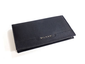 ブルガリ BVLGARI 長財布 アーバン メンズ ブラック 33402 【送料無料】