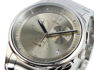 カルバン クライン CK クロノグラフ 腕時計 K2A27126【送料無料】