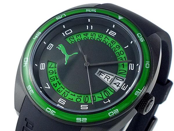 official photos 15a68 0648c プーマ PUMA 腕時計 時計 メンズ PU102521004 ブラック&グリーン|リコメン堂インテリア館