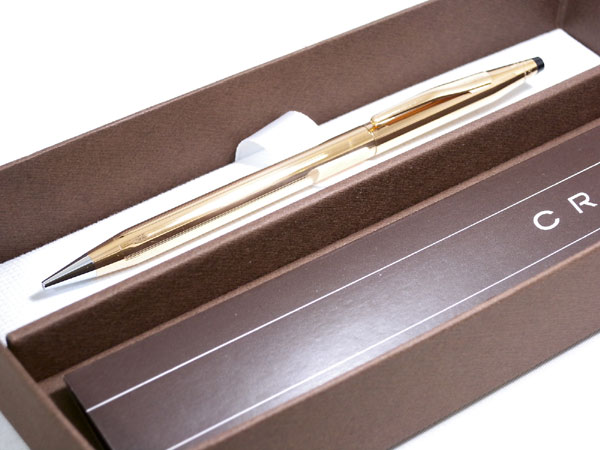 CROSS クロス クラシック センチュリー シャープペン 150305 14金張り【送料無料】