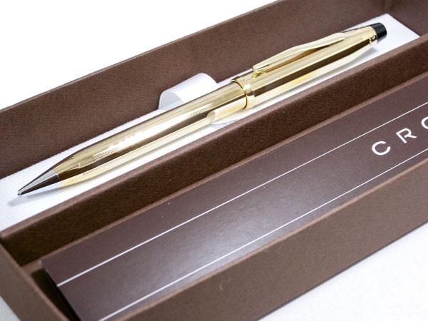 CROSS クロス センチュリー2 シャープペン 10金張り 450305WG【送料無料】