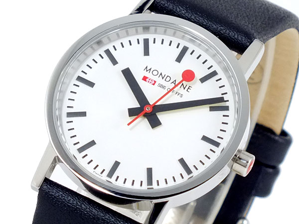 モンディーン MONDAINE 腕時計 A658.30323.11SBB ブラック