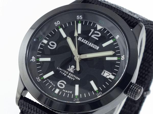 ブラックラグーン BLACK LAGOON 腕時計 レヴィモデル BLM1-10R2 【送料無料】