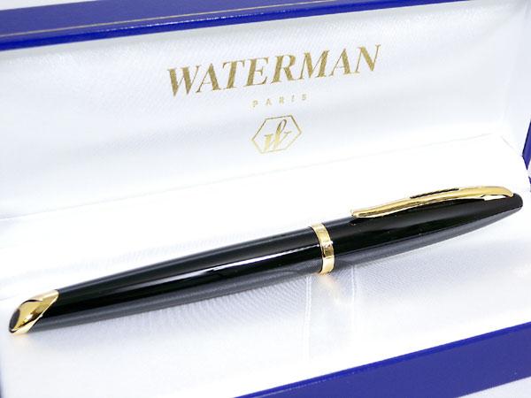 WATERMAN ウォーターマン カレン 万年筆 ブラックシー M(中字)