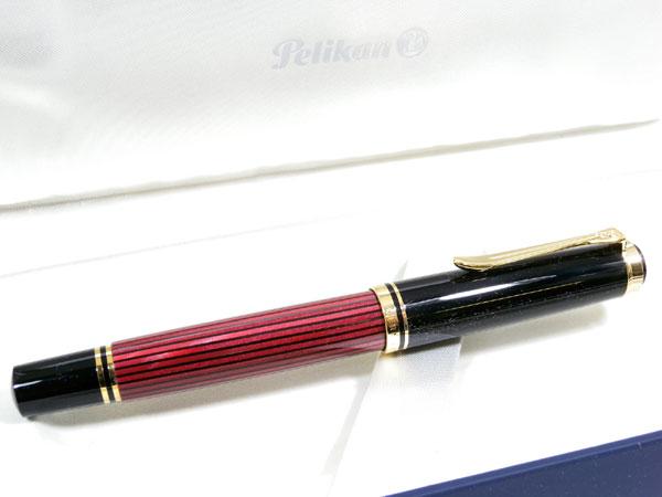 PELIKAN ペリカン SOUVERAN 万年筆 M400 ボルドー F(細字)