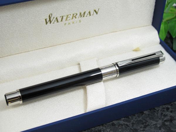 WATERMAN ウォーターマン パースペクティブ 万年筆 ブラックCT M(中字)【送料無料】