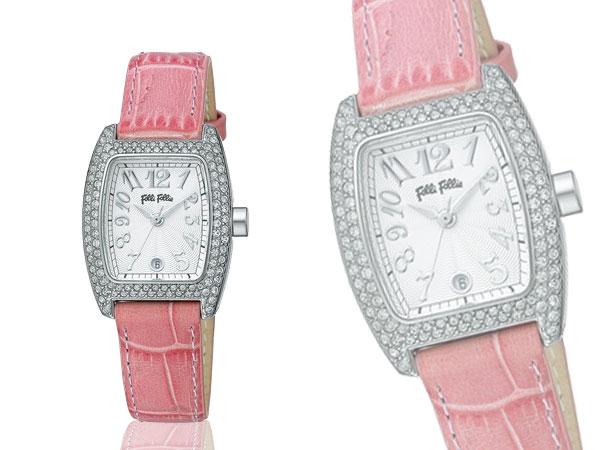 Folli Follieフォリフォリ 腕時計 S922ZI SLV/PINKH2【送料無料】
