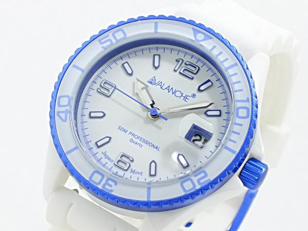 アバランチ AVALANCHE 腕時計 AV-1016CER-BU