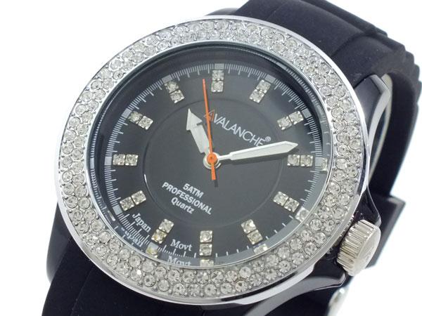 アバランチ AVALANCHE レディース 腕時計 AV-107S-BK-40【S1】