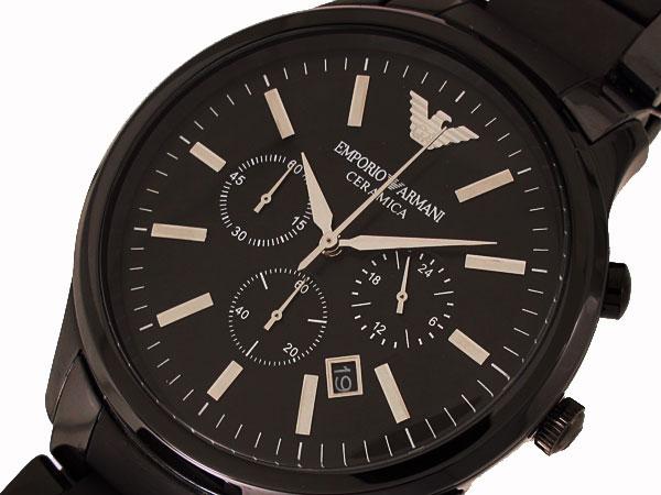 エンポリオ アルマーニ ARMANI CERAMICA クロノグラフ 腕時計 AR1451【送料無料】