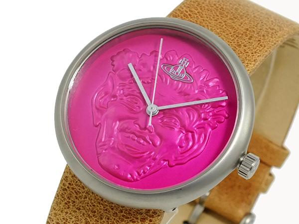 ヴィヴィアンウエストウッド VIVIENNE WESTWOOD 腕時計 VV021PKTN【送料無料】