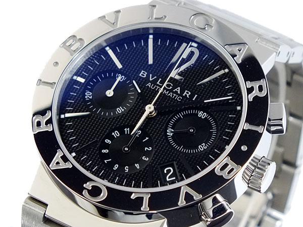 ブルガリ BVLGARI ブルガリ ブルガリ 自動巻き クロノ 腕時計 BB38BSSDCH【送料無料】