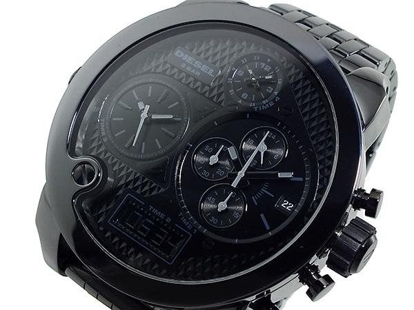 ディーゼル DIESEL フォータイム アナデジ クロノグラフ 腕時計 DZ7254H2【送料無料】