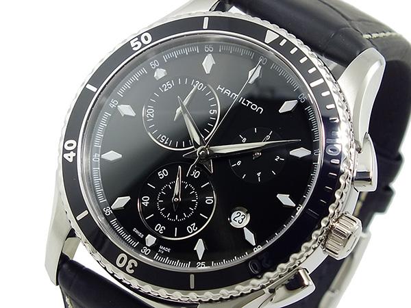 ハミルトン ジャズマスター シービュー クオーツ クロノグラフ 腕時計 H37512731H2【送料無料】