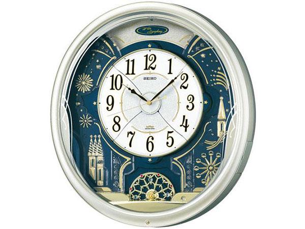 セイコー SEIKO からくり時計 電波時計 掛け時計 RE561HH2【送料無料】