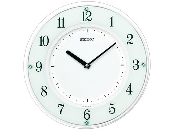 セイコー SEIKO 電波時計 ソーラープラス 掛け時計 SF505WH2