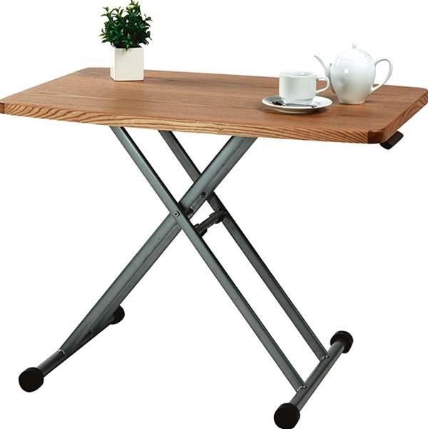 テーブル/リフトテーブル 昇降テーブル カウンター 機能 MIP-36NA ナチュラル 【代引き不可】【送料無料】