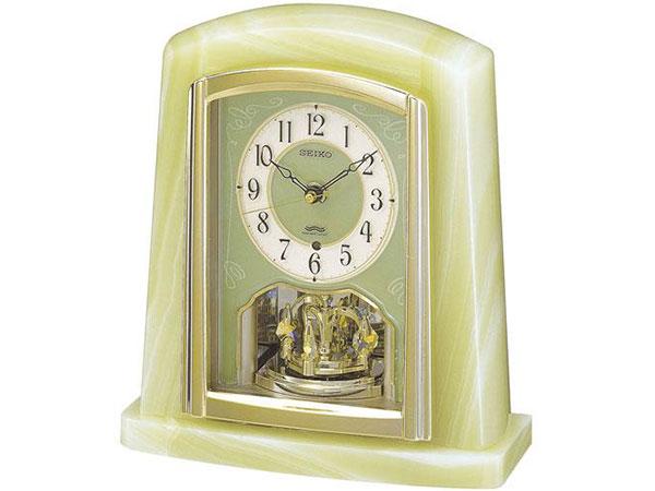 セイコー SEIKO 電波時計 置き時計 BY223M