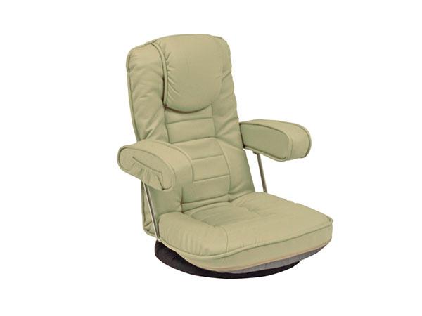 フロアチェア FLOOR CHAIR 座椅子 LZ-1081LGY 【代引不可】【送料無料】