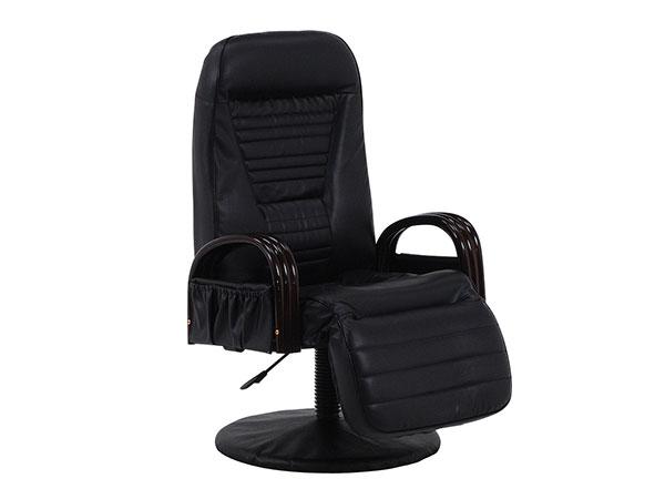 フロアチェア FLOOR CHAIR 回転座椅子 LZ-4129BK 【代引不可】