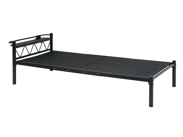 BED シングルベッド KH-3704-BK 【代引不可】【送料無料】
