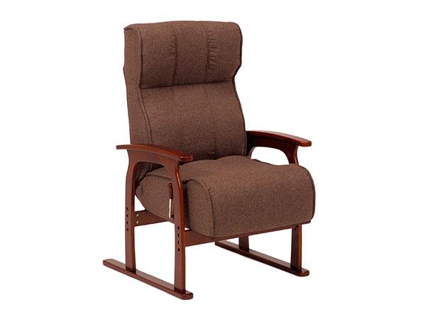 フロアチェア FLOOR CHAIR 座椅子 LZ-4303BR 【代引不可】【送料無料】