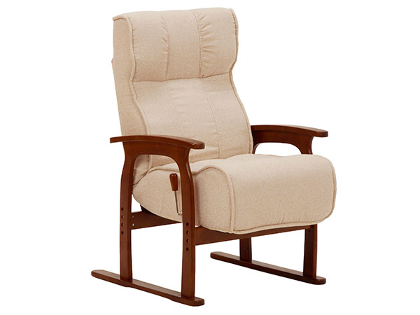 フロアチェア FLOOR CHAIR 座椅子 LZ-4303IV 【代引不可】【送料無料】