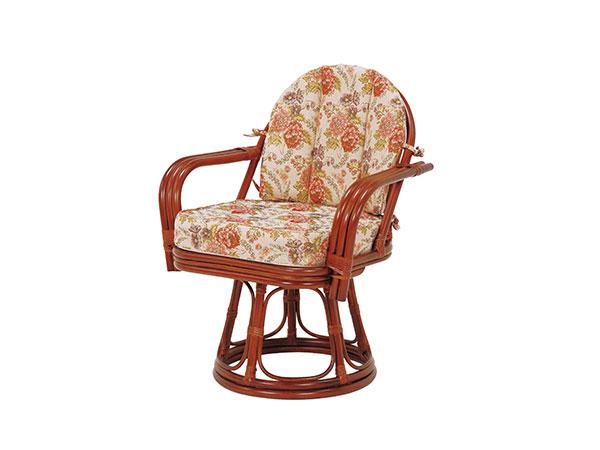 ラタンチェア RATTAN CHAIR 回転座椅子 RZ-934 【代引不可】【送料無料】