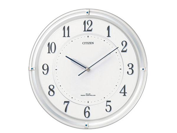 シチズン CITIZEN 電波掛け時計 サイレントソーラーM817 4MY817-003 P11Apr15【送料無料】