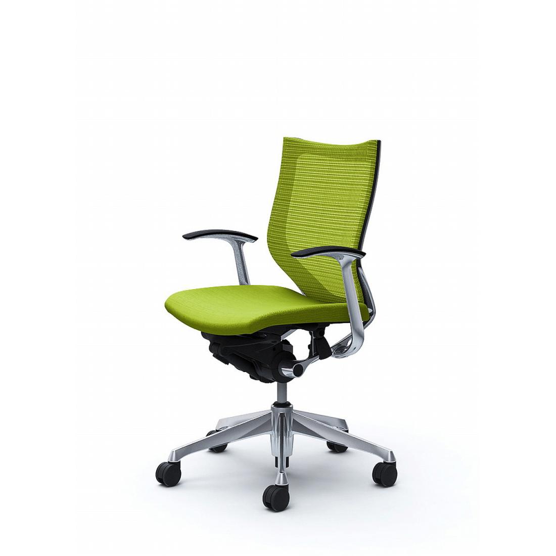 バロン バロンチェア CP43BR Baron【ローバック】ポリッシュフレーム クッションシート デザインアーム オフィスチェア オカムラ(代引き不可)【送料無料】