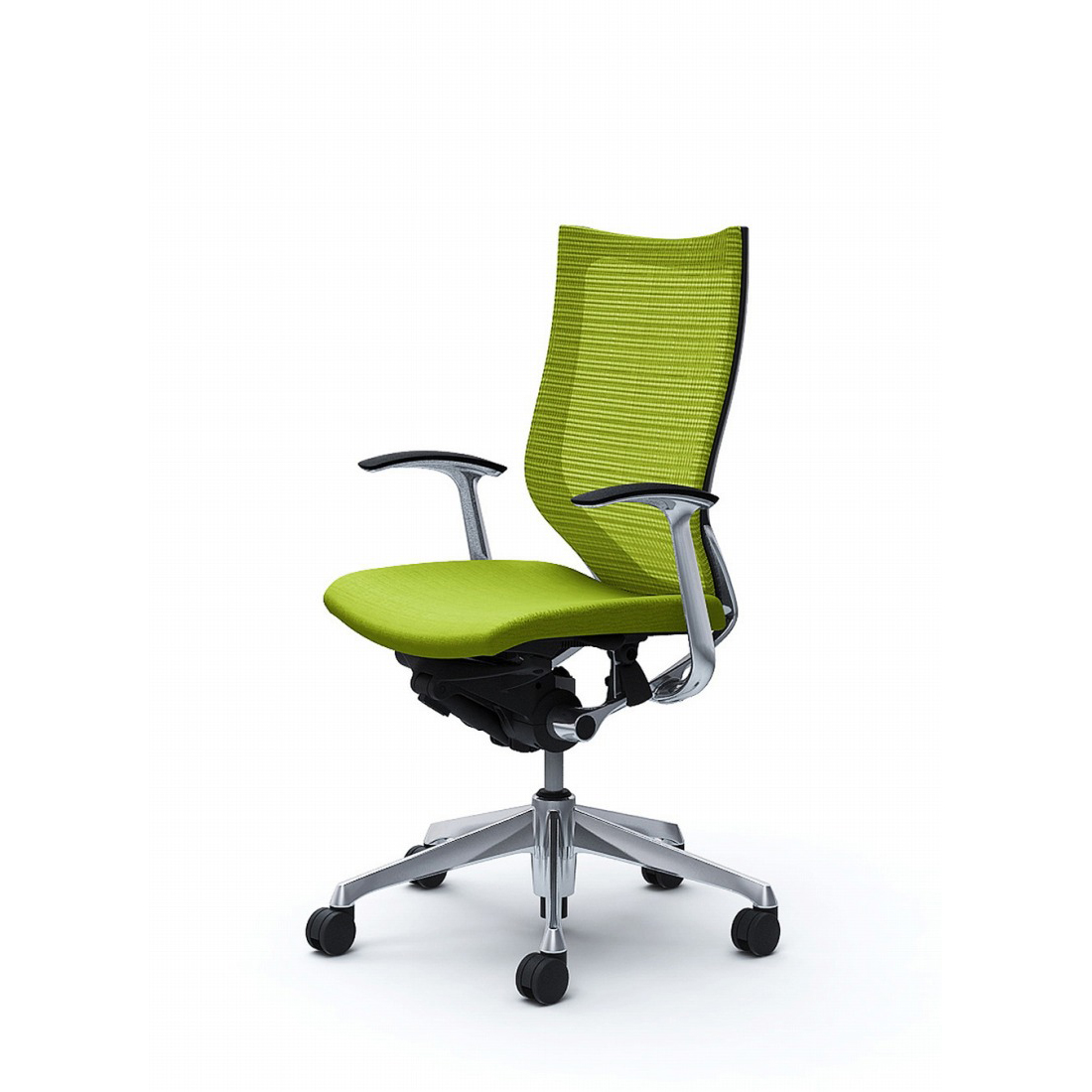 バロン バロンチェア CP45BR Baron【ハイバック】ポリッシュフレーム クッションシート デザインアーム オフィスチェア オカムラ(代引き不可)【送料無料】