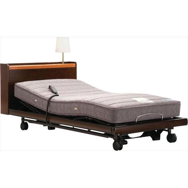 フランスベッド 電動リクライニングベッド グランマックス ベッドフレーム シングル ウォールナット リクライニングベッド(代引不可)【送料無料】
