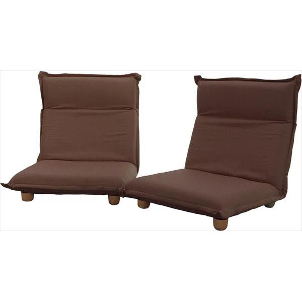 フランスベッド ソファベッド On & Off 2個セット ブラウン リクライニングソファ ソファ 2人掛け リクライニング 座椅子(代引不可)【送料無料】