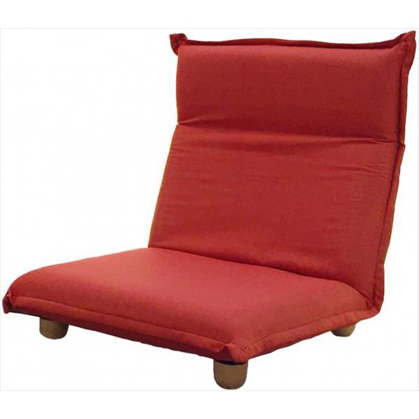フランスベッド ソファベッド On & Off 単品 レッド リクライニングソファ ソファ 1人掛け リクライニング 座椅子(代引不可)【送料無料】