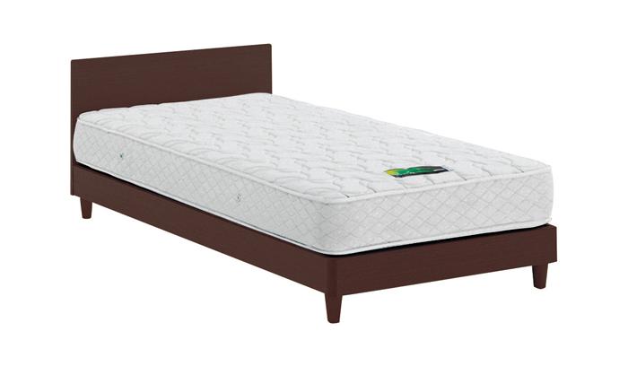 ASLEEP アスリープ ベッドフレーム セミダブルロングサイズ チボー FYAP47DC ダークブラウン 脚付き アイシン精機 ベッド(代引不可)【送料無料】